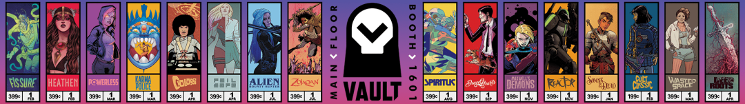 Vault Comics at the 2018 Emerald City Comic Con!