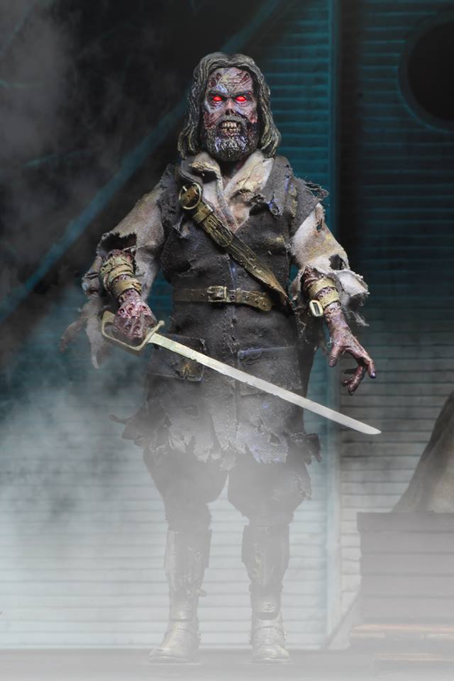 This Fall NECA is Bringing Us 'The Fog's' Ghost of Captain Black!