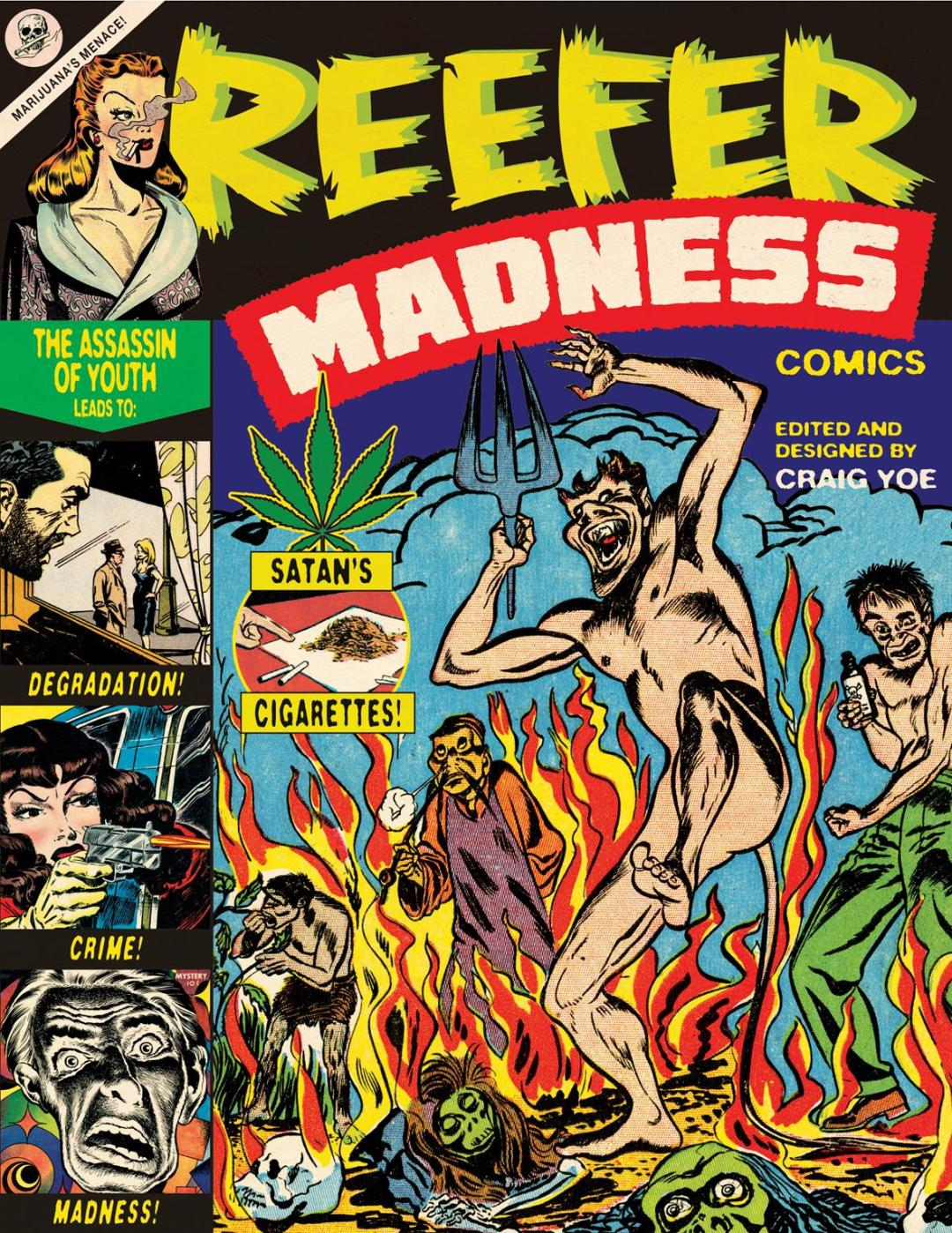 Dark Horse Warns Against the Dangers of Satan's Cigarettes in 'Reefer Madness!'