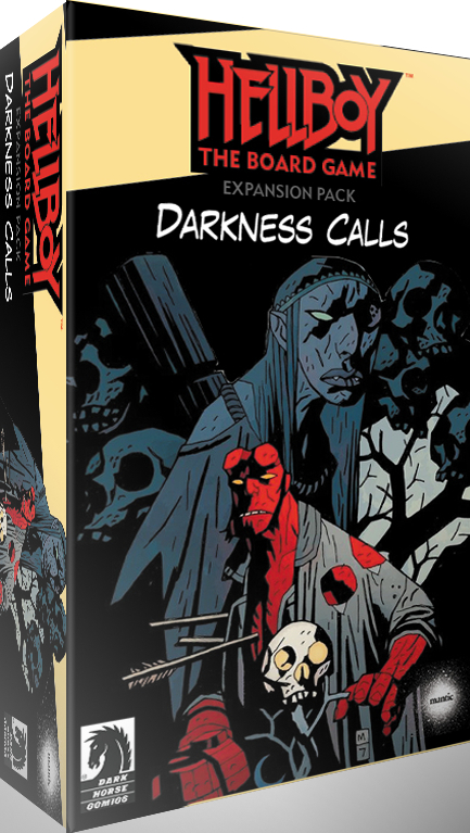 Darkness Calls Expansion Unveiled for 'Hellboy: The Board Game' Kickstarter