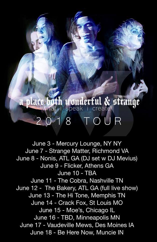 Occult Electronic Band 'A Place Both Wonderful & Strange' Announces Tour Dates
