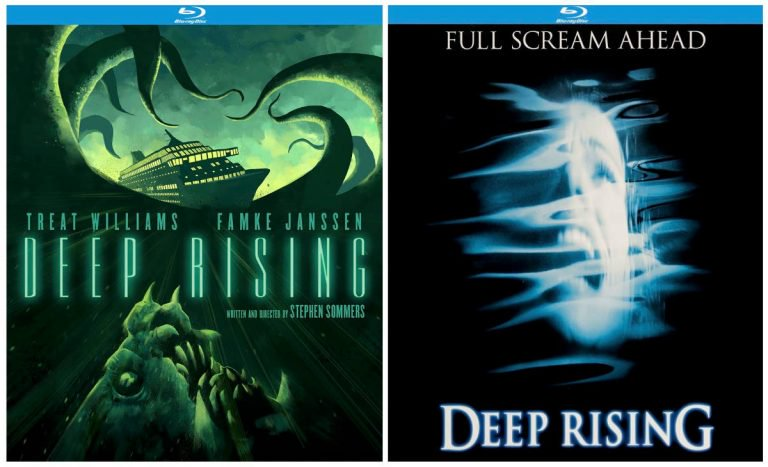 Kino Lorber Reveals Full Release Details & Cover Art for 'DeepRising' 20th Anniversary Edition Blu-ray & DVD
