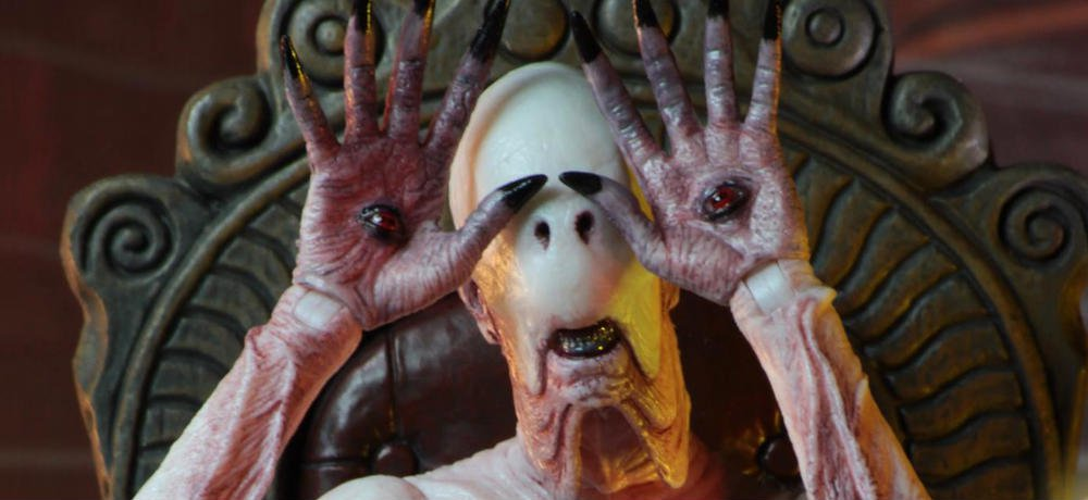 NECA Reveals Photos of New Figure of The Pale Man from Guillermo del Toro's 'Pan's Labyrinth'