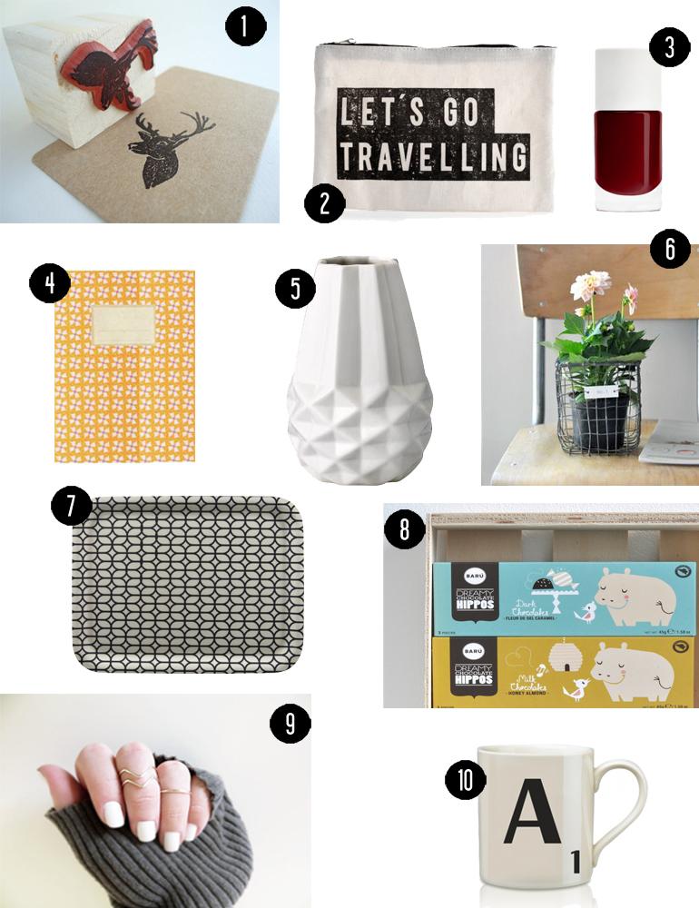 Idée Cadeau 10 Euros 10 idées de cadeaux à moins de 10 euros   Hëllø Blogzine