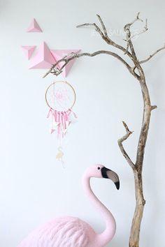 dream-catcher-attrape-reve-flamand-rose