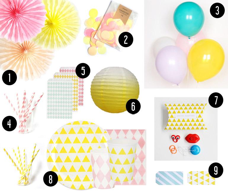 Anniversaire Kids Pastel // Hëllø Blogzine www.hello-hello.fr