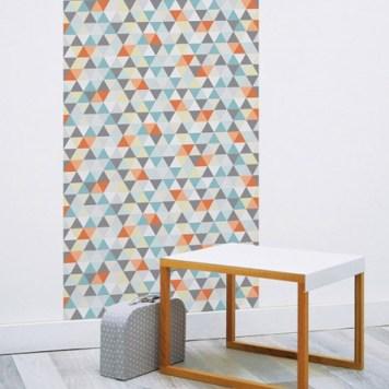 o trouver du papier peint motifs g om triques h ll blogzine. Black Bedroom Furniture Sets. Home Design Ideas