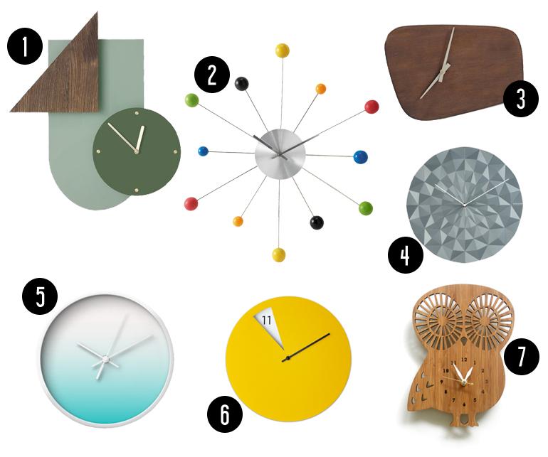Horloges Design // Hëllø Blogzine www.hello-hello.fr