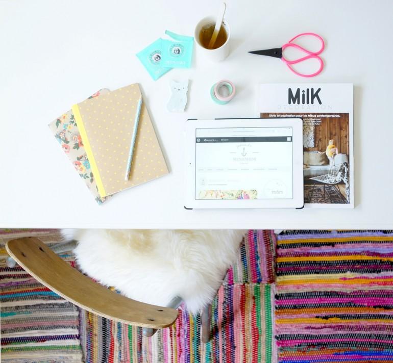 Bureau de Pomverte // Hëllø Blogzine www.hello-hello.fr