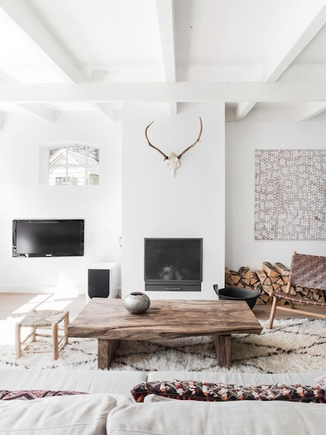 donner un look scandinave son salon - Deco Scandinave