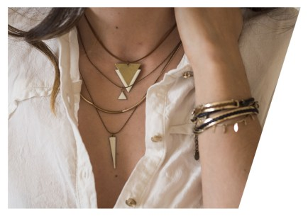 Les colliers Theodora Gabrielli