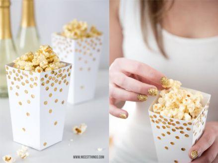 Cornet de pop corn faits main