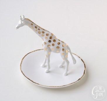 Coupelle à bijoux girafe