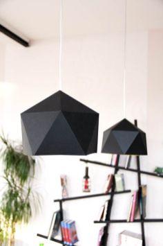 Suspension Origami géométrique