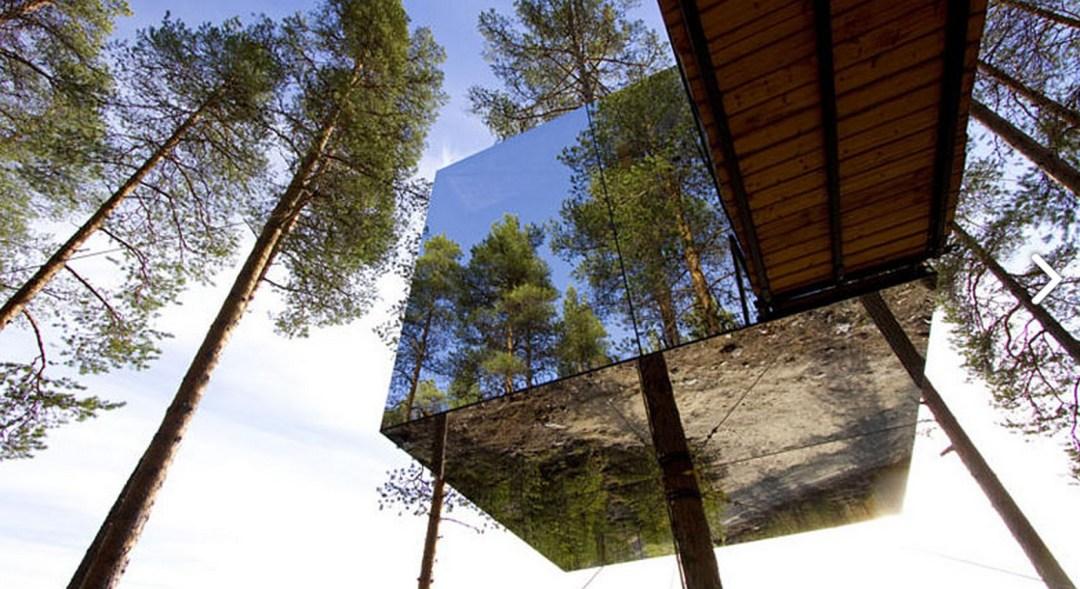 treehotel hôtel insolite en suède cabane dans les arbres