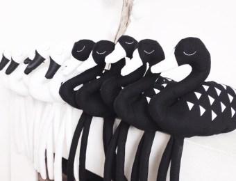 studio bibi doudou black & white