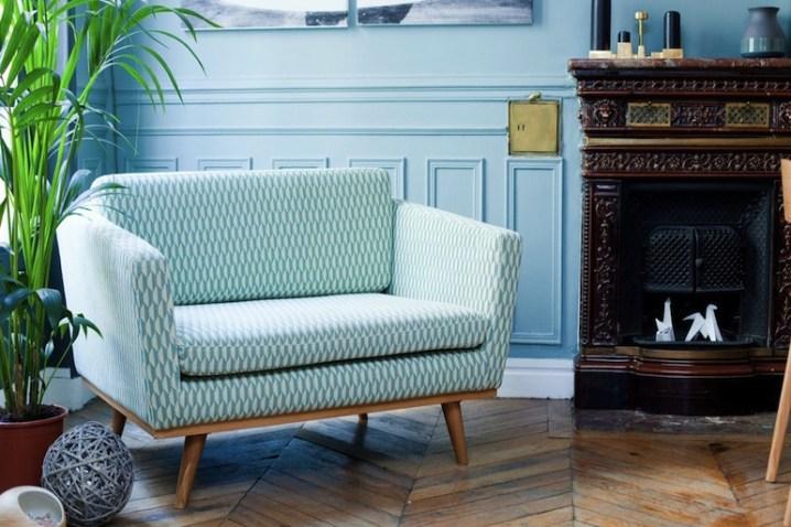canape fifties 120 bakou celadon