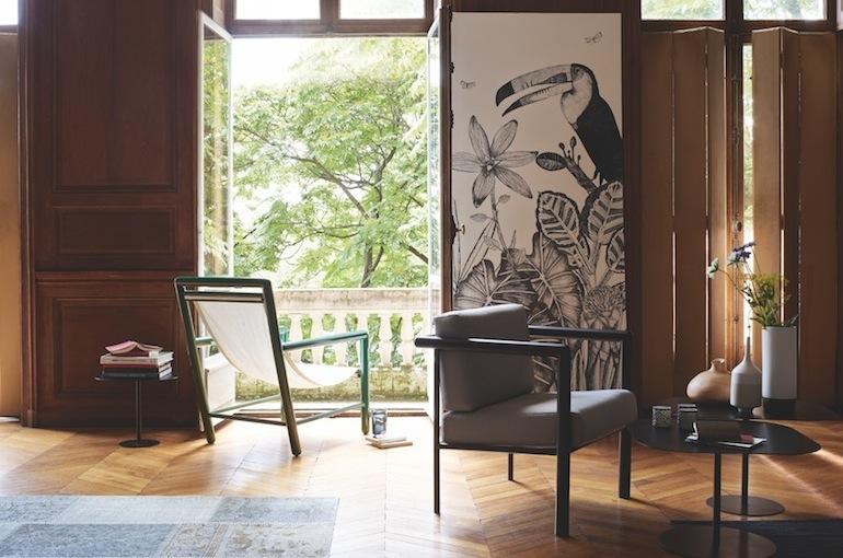 Des créations griffées de designers chez Habitat on chaise sofa sleeper, chaise furniture, chaise recliner chair,
