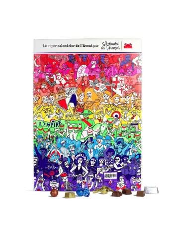 calendrier lechocolatdesfrancais 25€ BD 1