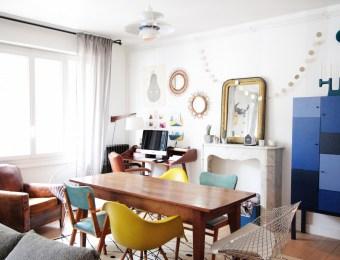 appartement parisien vintage celine small issue / Hëllø Blogzine - www.hello-hello.fr