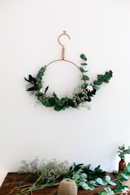 freckle and wulff diy couronne noel vegetale