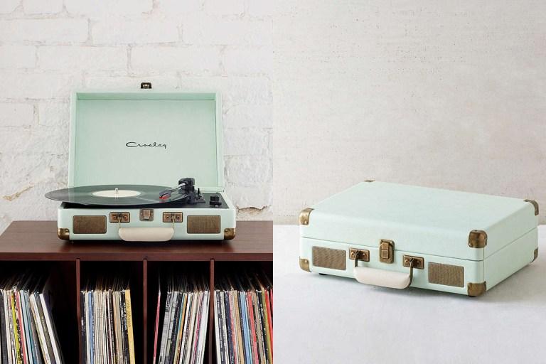 Vintage vinyl player // Hëllø Blogzine www.hello-hello.fr