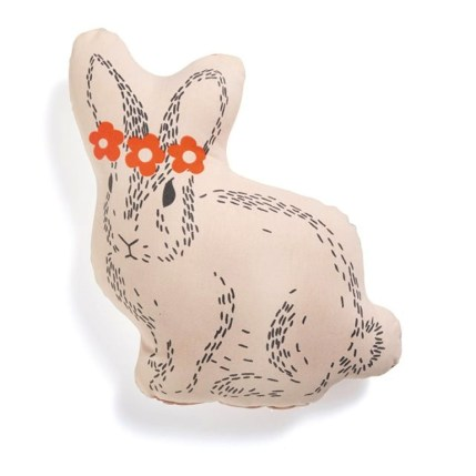 coussin lapin redoute
