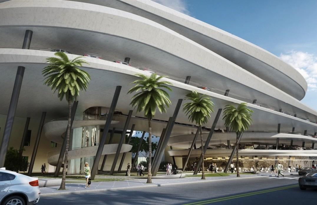 Zaha Hadid collins park place miami ©Zaha Hadid Architects