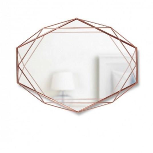 Miroir prisma Cuivre Umbra // Hëllø Blogzine Lifestyle - www.hello-hello.fr
