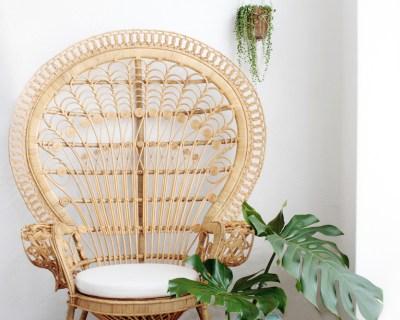 Bohemian Peacock Chair Rattan // Hëllø Blogzine blog deco & lifestyle www.hello-hello.fr
