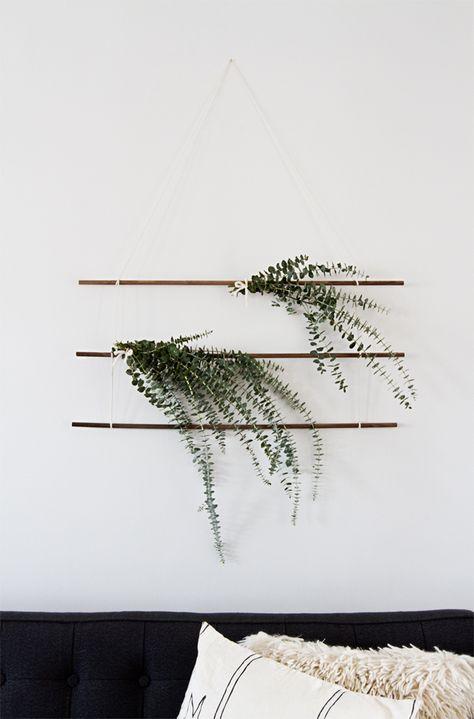 Décorer avec de l'eucalyptus // Hëllø Blogzine blog deco & lifestyle www.hello-hello.fr