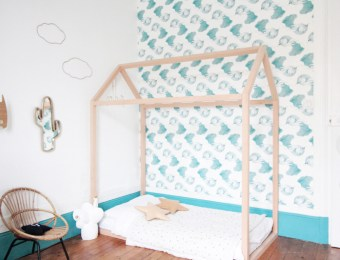 French Boy's Room Turquoise // Hëllø Blogzine blog deco & lifestyle www.hello-hello.fr