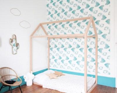French Boy's Room Turquoise // Hëllø Blogzine blog deco & lifestyle www.hello-hello.fr