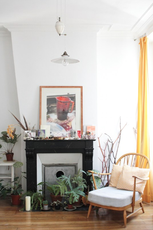 Appartement Parisien Oasis Urbaine // Hëllø Blogzine blog deco & lifestyle www.hello-hello.fr #green #urbanjungle