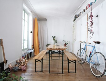 Appartement Parisien Green // Hëllø Blogzine blog deco & lifestyle www.hello-hello.fr #green #urbanjungle