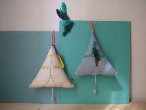 Tendance Tipi pour les chambres d'enfants // Hëllø Blogzine blog deco & lifestyle www.hello-hello.fr #tipi #teepee #kidsdecor