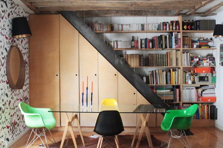 Home Tour Appartement Parisien Montmartre Atelier Singulier // Hëllø Blogzine blog deco & lifestyle www.hello-hello.fr #paris #parisianinterior #montmartre