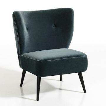 Fauteuil Franck // / Hëllø Blogzine blog deco & lifestyle www.hello-hello.fr #velours #fauteuil