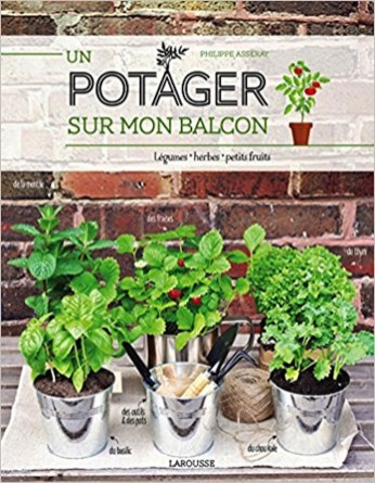 Un potager balcon // Hëllø Blogzine blog deco & lifestyle www.hello-hello.fr #urbanjungle #book #greeninterior