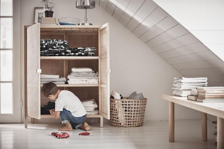Buffet cannage rotin Ikea // Hëllø Blogzine blog deco & lifestyle