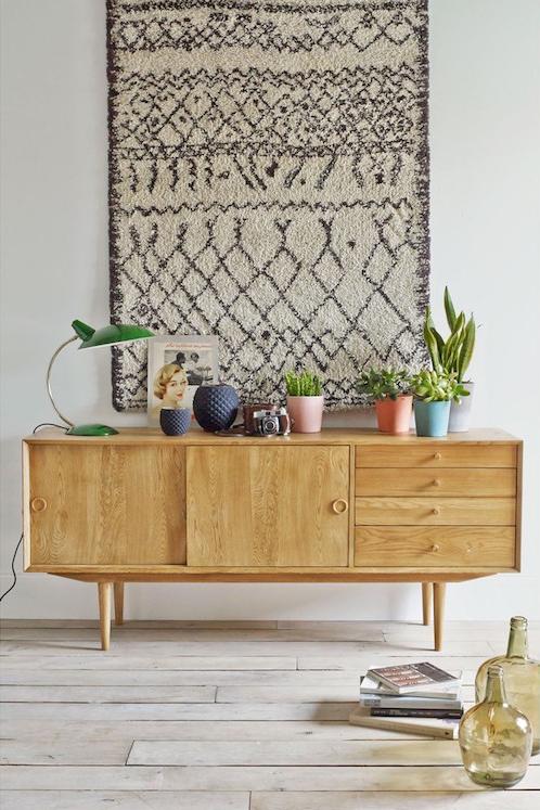 la redoute les 6 meubles et accessoires retro les plus r ussis. Black Bedroom Furniture Sets. Home Design Ideas
