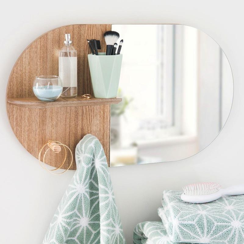 beautiful with miroir salle de bain maison du monde. Black Bedroom Furniture Sets. Home Design Ideas