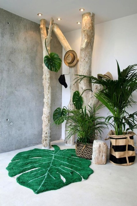 Tendance monstera // Hëllø Blogzine blog deco & lifestyle www.hello-hello.fr #monstera #vegetal #tropical #green #greenterior