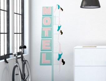 Sticker Papermint Nageuses retro, plongeuses vintage, baigneuses // Hëllø Blogzine blog deco & lifestyle www.hello-hello.fr