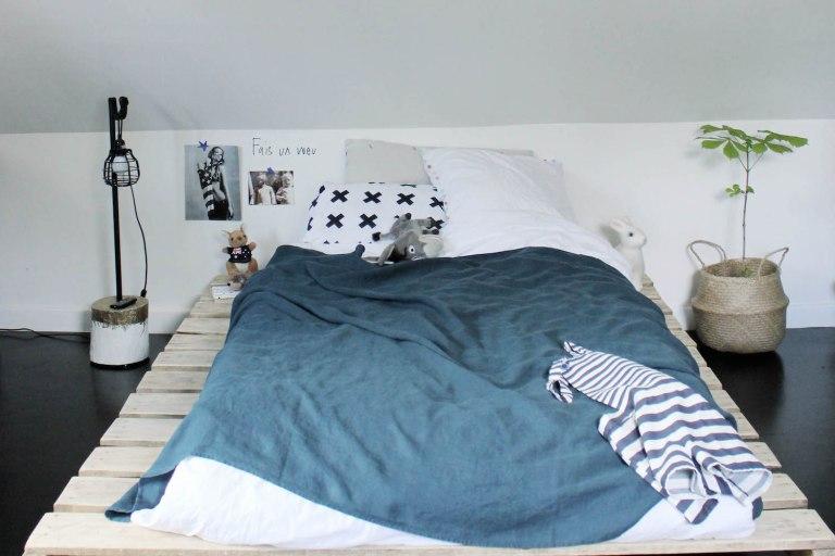 Chambre Ado Jungle : La chambre d ado tendance et moderne en noir blanc de