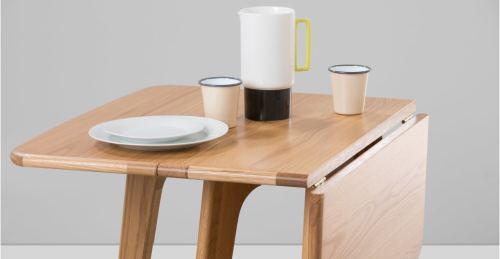 Table pliante gain de place // Hëllø Blogzine blog deco & lifestyle www.hello-hello.fr