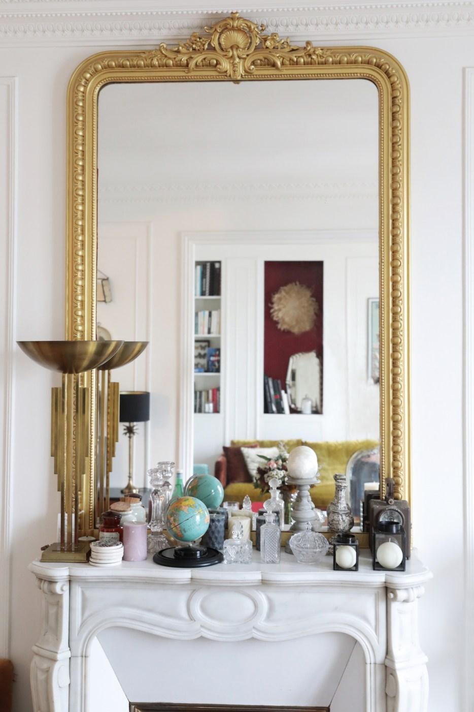 Bienvenue dans l\'appartement glamour de Camille Omerin de ...