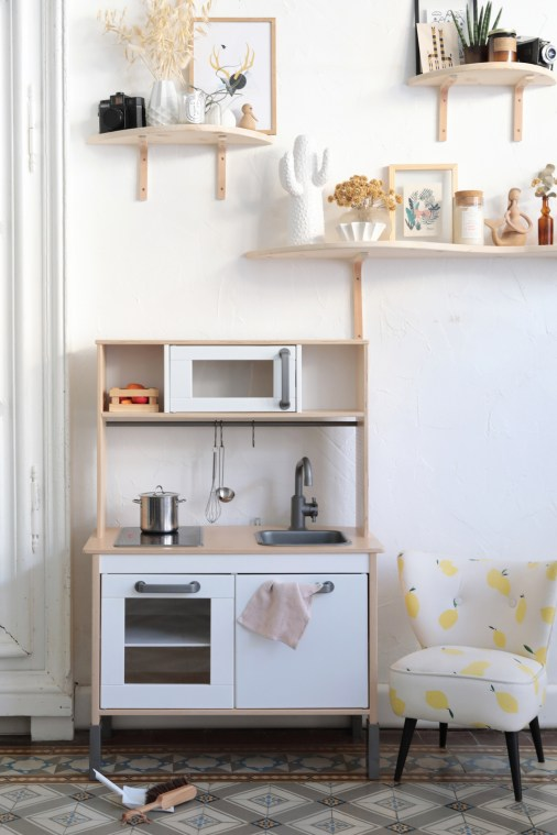 Ikea Hack : La cuisine pour enfant Duktig en mode Urban Jungle // Hëllø Blogzine blog deco & lifestyle www.hello-hello.fr