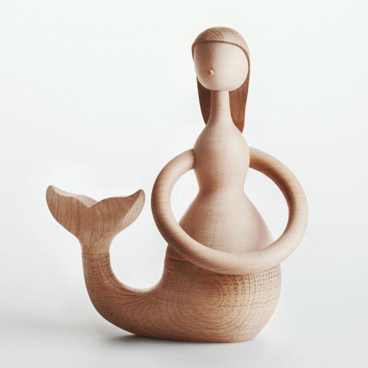 Sirène en bois, 117,66€
