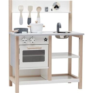 Cuisine en bois - Idées cadeaux de noël enfants mixte // Hëllø Blogzine blog deco & lifestyle www.hello-hello.fr